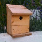 Reclaimed Floorboard Birdhouse