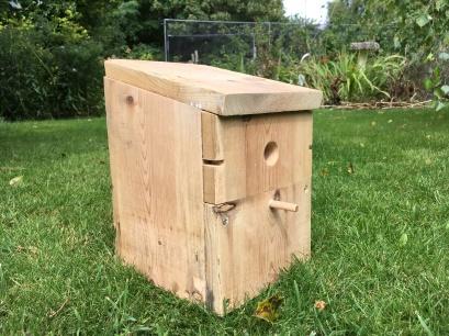 recycled nesting box