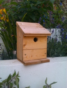 Floorboard bird house