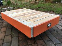 Funky pallet coffee table