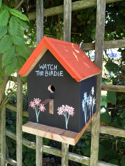 Blackboard Nesting Box