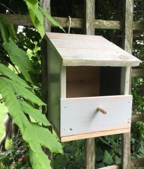 Reclaimed Wood Robin Nesting Box